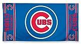 """MLB Chicago Cubs A1877115 Fiber Beach Towel, 9 lb/30"""" x 60"""""""