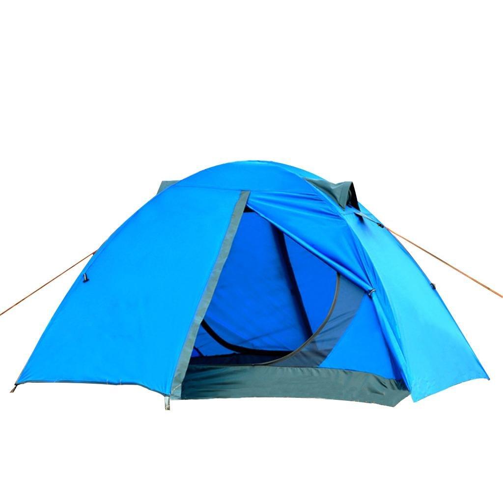 Tragbare Zelte Paar Outdoor Zelt Winddichte und belüftete Campingzelte Faltzelte