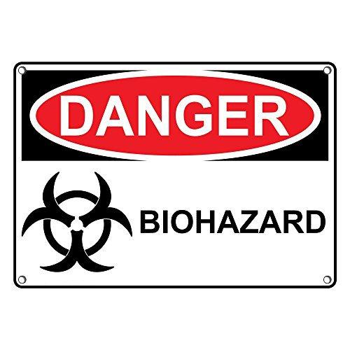 Amazon.com: Resistente a la intemperie plástico OSHA peligro ...