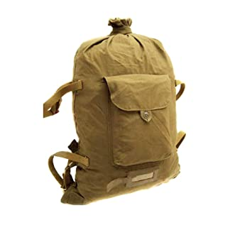 843005eb5c8 Ganwear® Genuine USSR Soviet Military Russian Army Backpack Bag Outdoor  Hiking Travel Canvas Rucksack