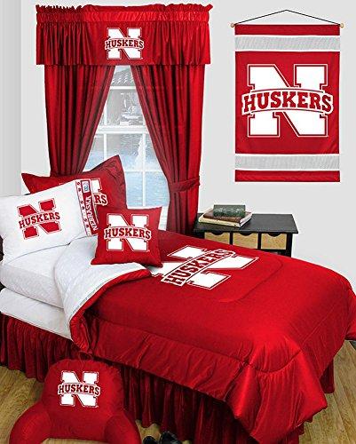 Nebraska Cornhuskers Dorm Bedding Comforter Set (Nebraska Cornhuskers Twin Comforter)