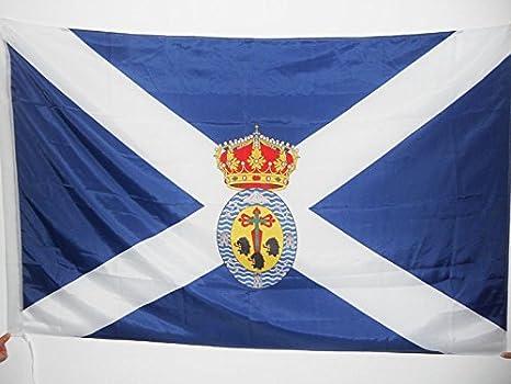 AZ FLAG Bandera de Santa Cruz DE Tenerife 150x90cm para Palo ...