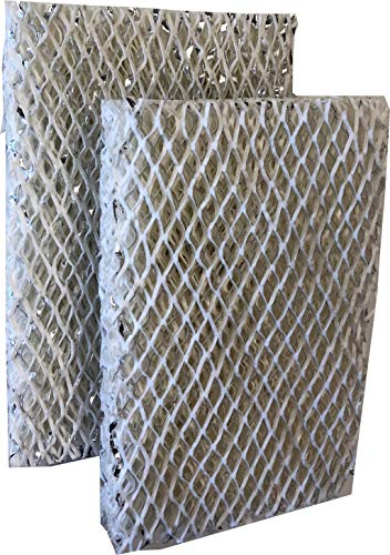 Duraflow Filtration Coated Aluminum Water Panel Humidifier Pad (10 x 13-1/2 x 1-5/8) - Compatible with Many Aprilaire, Honeywell, Bryant, Carrier, and Lennox Models - 2 Pack ()