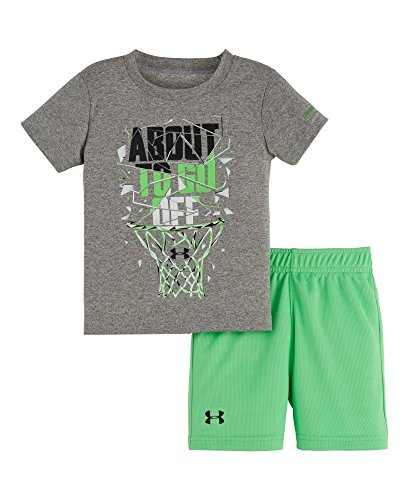 Off Under Armour (Under Armour Baby About To Go Off Set, True Grey Heather, 18)