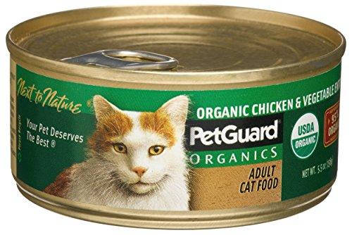 (PetGuard, Organic Cat Food, Chicken & Veggie, 5.5 oz)