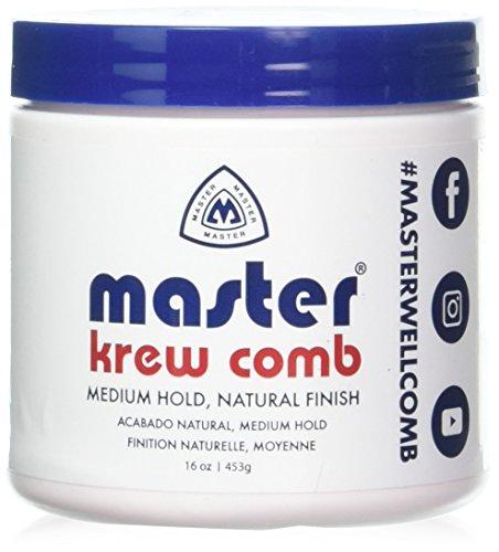 (Krew Comb Medium Hold Hair Styling Prep 16)