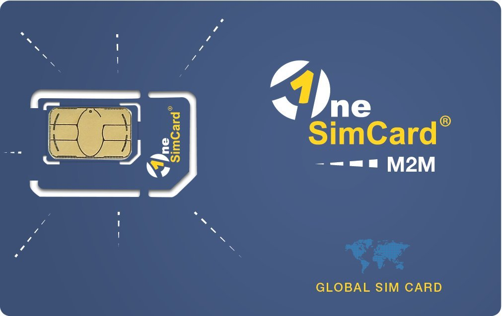OneSimCard M2M GLOBAL IoT SIM Card Starter Kit (5 SIMs) with