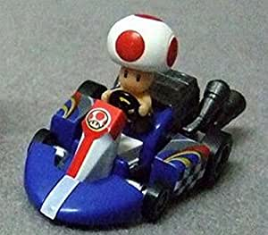 Mario Kart Wii Pull Back Racers Sticker Version-Toad