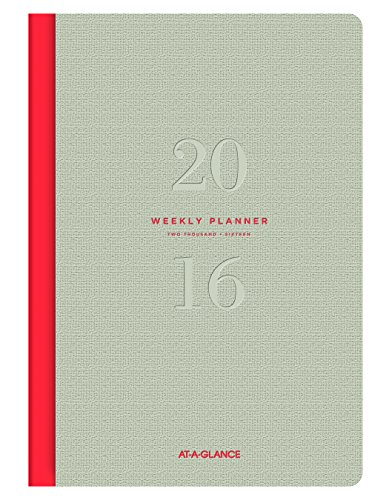 UPC 038576491069, At-A-Glance Weekly and Monthly Planner 2016, Collection, 5.5 x 8.25 Inches Page Size (YP1060716)
