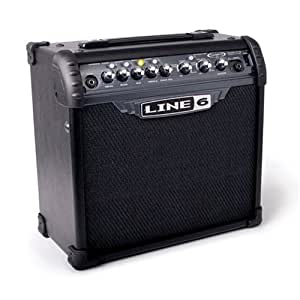 line 6 spider iii 15 watt guitar combo amplifier musical instruments. Black Bedroom Furniture Sets. Home Design Ideas