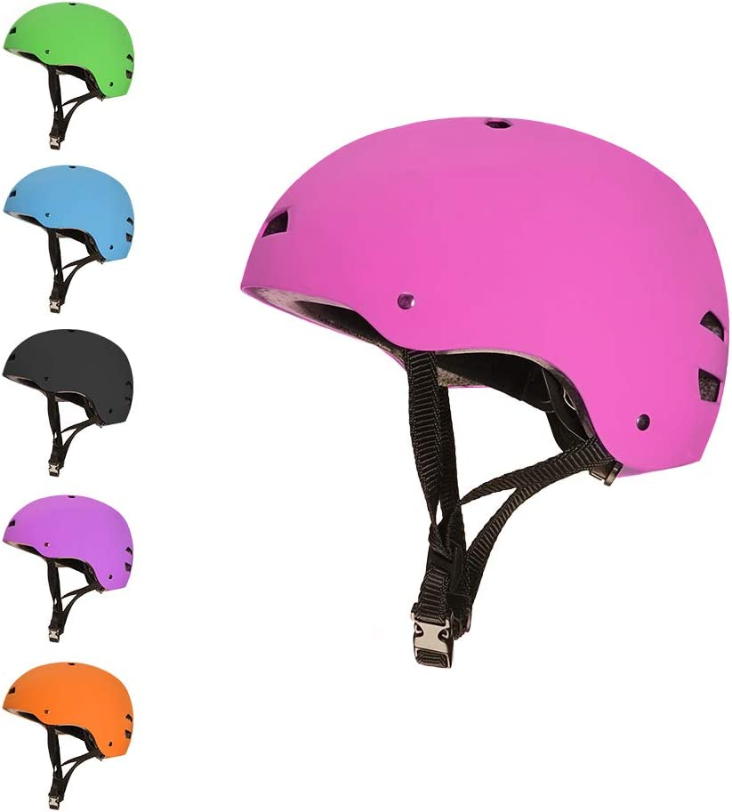 Roller Skating For Stunt Scooting 3StyleScooters/® SafetyMAX/® Kids Multi-Sport Safety Helmet Skateboarding and BMX Riding Suitable For Kids Aged 7+