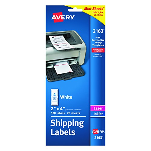 Avery Mini-Sheets Shipping Labels 2