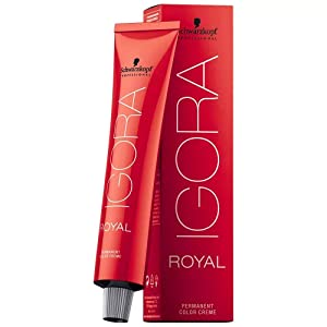 Schwarzkopf Igora Royal 6-1 Dark Blonde Cendre Permanent Hair Color 2.1 fl. oz. (60 g)