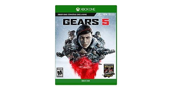Amazon com: Gears 5 - Xbox One: Microsoft Corporation: Video Games