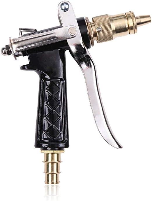 AFGH Pistola Manguera Jardin Todos los Accesorios de Herramientas de Limpieza de Alta presión de la Pistola de Agua de Lavado de jardín doméstico duraderos de Cobre, adecuados para Uso doméstico: Amazon.es: