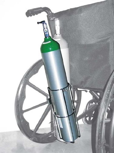 Oxygen Cylinder Holder for Wheelchair for E Size Cylinder
