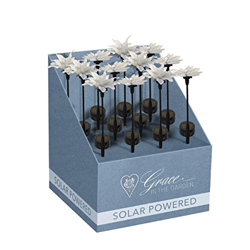 Grasslands Road - Small Solar Flower Stake