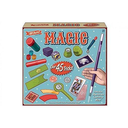 45 Trucchi Magico Set Bambini Maghi Scatola Creativo Imparare bambini ragazzi Kandy Toys UNI/852