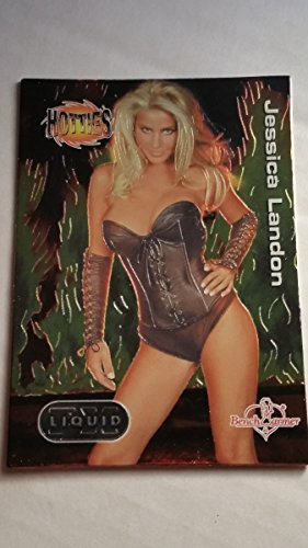 Jessica Landon 2003 Bench Warmer Series 2 Liquid FX Hotties #4 The Last Call - Landon Single