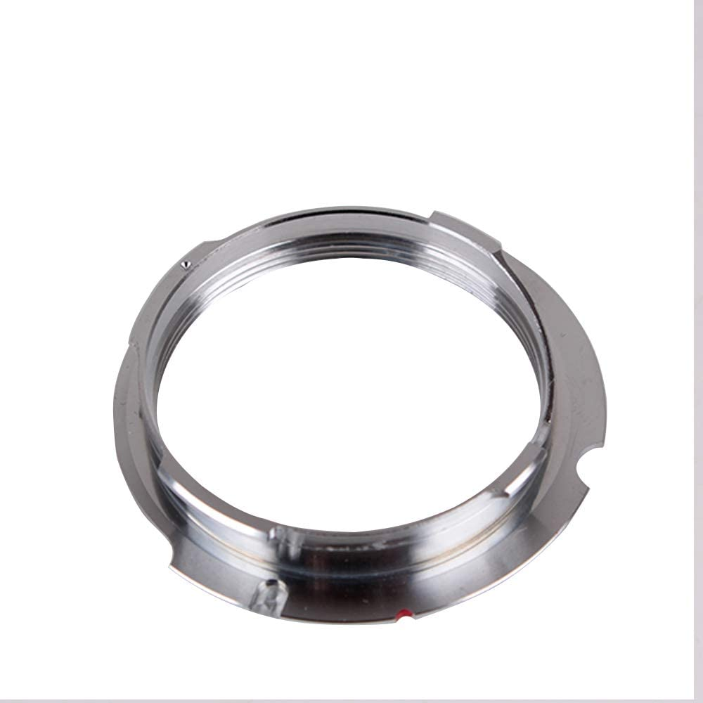 Pixco Lens Adapter for M39 LSM LTM 35-135MM Lens to Leica M L M 35MM Adapter M8 M7 MP M9