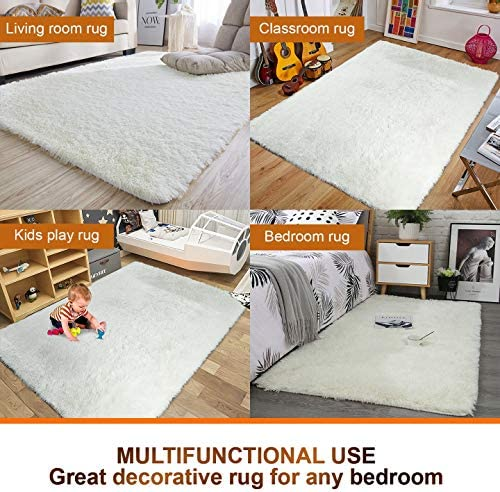 home, kitchen, home décor, area rugs, runners, pads,  area rugs 12 discount Noahas Super Soft Modern Shag Area Rugs Fluffy deals
