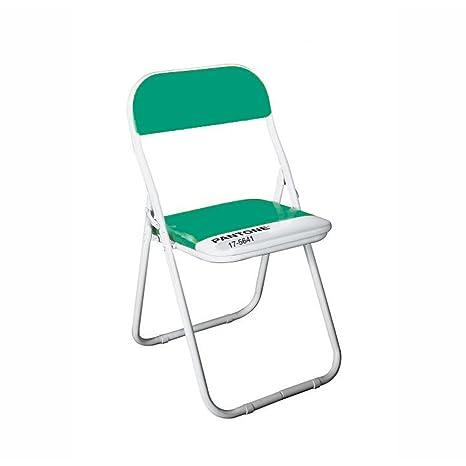 Sedia Metallo Pieghevole Pantone 17 5641 Cm 44 H 46 79 Emerald