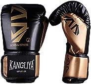 FitTrek Boxing Gloves for Kid - Fight Gloves Boxing - Punching Bag Mitts - Kickboxing Gloves for Women Men - M