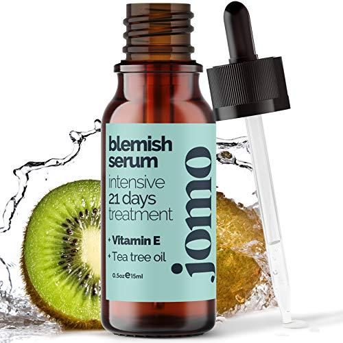 Vitamin C & 100% Pure Tea Tree Oil, Invisible Acne Spot Treatment Serum Oil to Clear Face & Body, Minimize Pores – Great…