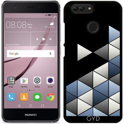 Funda para Huawei Nova 2 - Mens Triángulos Geométrica by Nina Baydur