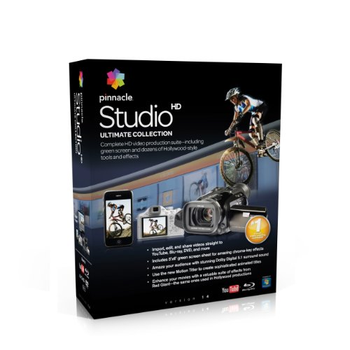 - Pinnacle Studio Ultimate Collection V14  [OLD VERSION]