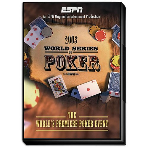 - 2003 ESPN World Series of Poker WSOP DVD - Officially Licensed