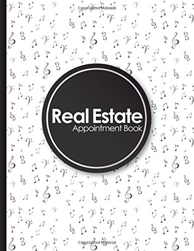 Download Real Estate Appointment Book: 7 Columns Appointment Maker, Appointment Tracker, Hourly Appointment Planner, Music Lover Cover (Volume 31) ebook