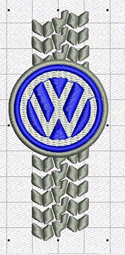 VW Bestickte Fun Poloshirt, 100% Baumwolle super Premium-Qualität -071