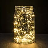 2M 20LED Button Battery Powered Silver Copper Mini Fairy Lights Brightness Rechargeable Nursing Novelty Adult Adult Nightlight Desk