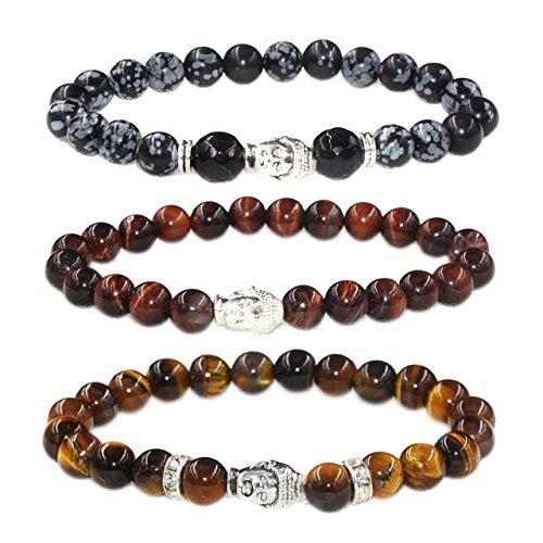 MIKINI Healing Gemstone Buddhist Bracelet