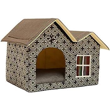 Amazon.com : Pet Dog House Large /Dog Bed Cat Bed Soft