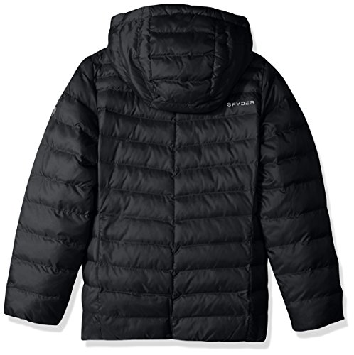 Black Girl's Down Timeless Spyder Hoody Jacket v6qXRx