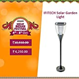 Ifitech Solar Garden Designer Light - 2 Nights Working With 1 Day Sun Charge