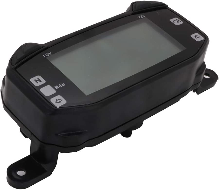 Fastpro Motorrad Tachometer Tachometer Kilometerz/ähler Instrument Tachometer Messuhr Cluster f/ür Su.zu.ki Satria F150