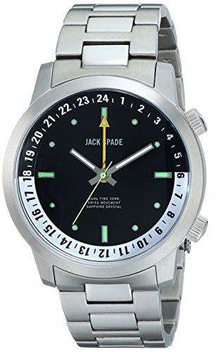 Jack Spade Men's WURU0044B Clarkson Analog Display Swiss Quartz Silver Watch (Jack Spade Watch)