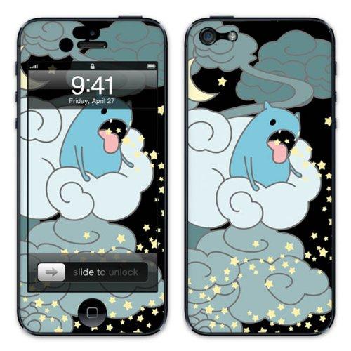 Diabloskinz B0081-0011-0004 Vinyl Skin für Apple iPhone 5/5S Star Spirits two