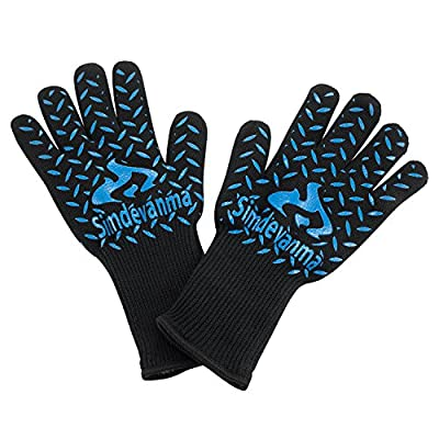 simdevanma Oven Gloves Heat Resistant Cooking Mitts by simdevanma