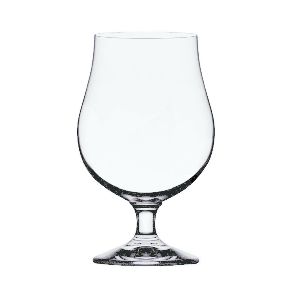 Stolzle Berlin Beer Crystal Glass - Belgian Tulips Style, 16 Ounce Pack of 12