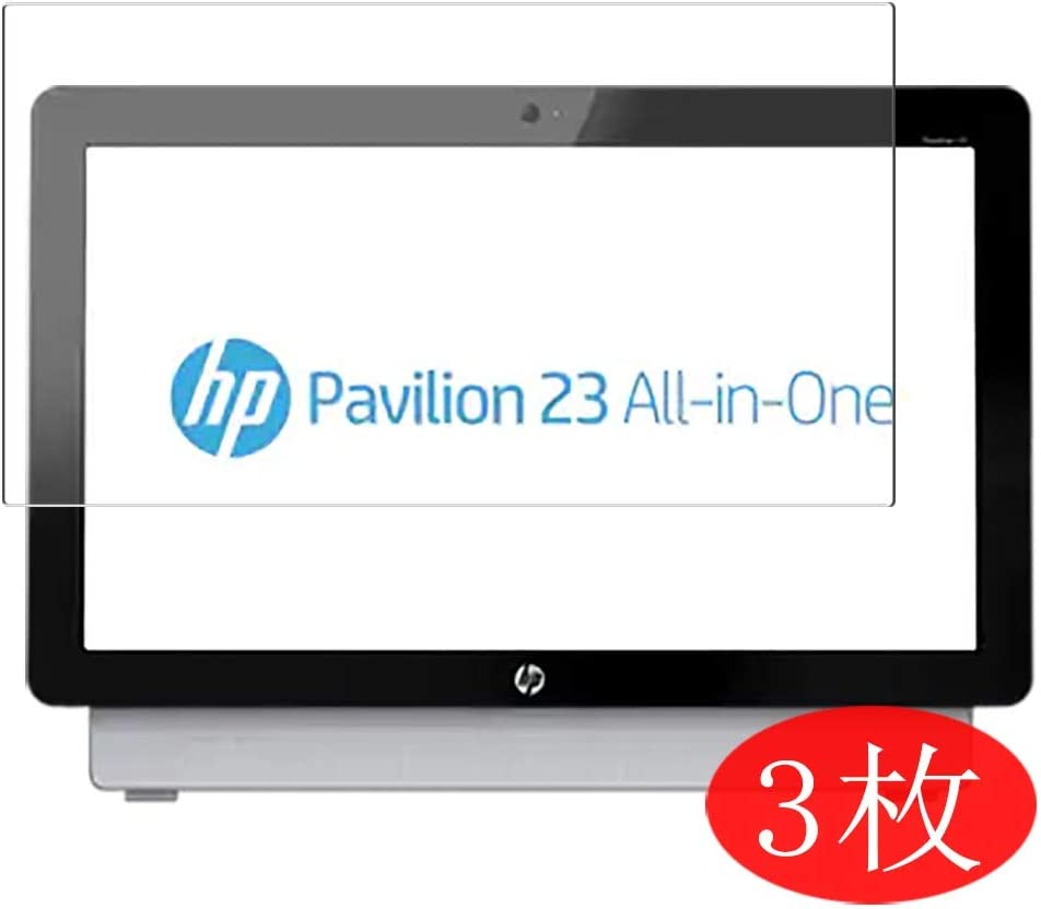 "【3 Pack】 Synvy Screen Protector for HP Pavilion 23-a300 All-in-One AIO / a300a 23"" TPU Flexible HD Film Protective Protectors [Not Tempered Glass]"
