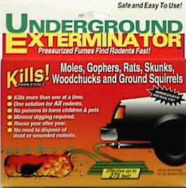 Underground Exterminator - Kills Moles, Gophers, Rats, Groundhogs and More (Gopher Poison Machine)