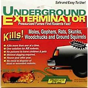Underground Exterminator - Kills Moles, Gophers, Rats, Groundhogs and More