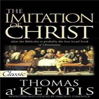 The Imitation Of Christ Book