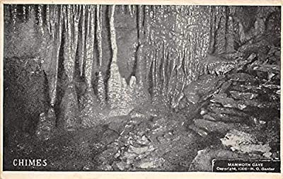 Caves Post Card Chimes Mammoth Cave National Park, Kentucky, USA Postal Used Unknown