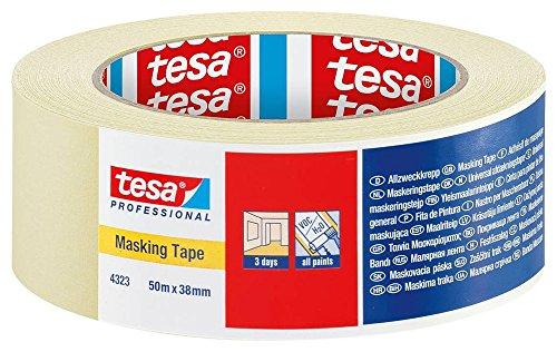 Tesa 4323 White Masking Tape Painting Decorating Residue Free Boxed Quantities