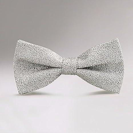 GENTLEE - Corbata para hombre, diseño de lazo de boda con la ...